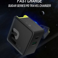 ROCK Sugar PD Fast Charging & QC 3.0 for iPhone X 8 Samsung S9