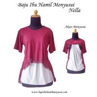 Baju Ibu Hamil Menyusui Nella