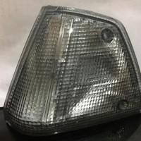 part honda mobil Corner Lamp Civic Wonder 84 87 2 Pintu Putih
