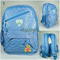 Tas Sekolah Ransel Backpack Perempuan (Silver Girl Alto: 722 74 E-1)