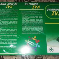 Beli Leaflet / Brosur Pemeriksaan IVA Bonus Poster Kebidanan