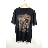 Baju Kaos/Atasan Distro Spandex Pria gambar Soekarno size XXL