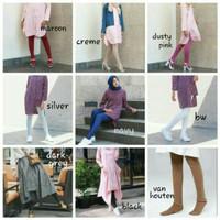 celana legging  wudhu wanita muslim / stocking senam Jersey termurah