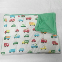 Selimut Bed Cover bayi aneka mobil