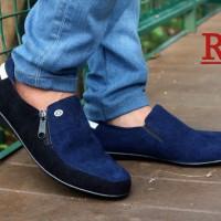 Sepatu Slop Pria Reggio Original Kulit Asli /Adidas/Nike/Kickers/Vans