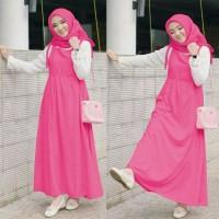 Hijab wakanda | setelan inner blouse + outer maxi