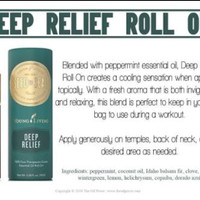 Deep Relief Roll On young living 10 ml essential oil sealed