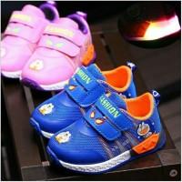 sepatu kets doraemon anak tanpa LED