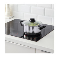 IKEA ANNONS Panci Stainless Steel Berpenutup 2.8L