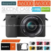 Silicone Sony Alpha A6000 A6300 Silikon Case / Sarung Silicon