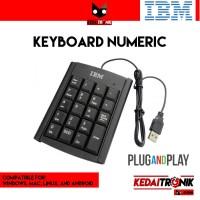 Keyboard Numeric Keypad Angka Pad Numpad USB Mini Numerik
