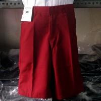Celana Pendek Seragam SD Merah (Sontog SD) (Seragam Sekolah)