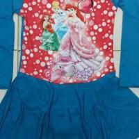baju renang muslim anak cewek SD 6 10thn princess JUAL