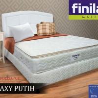 Kasur Finiland GALAXY WHITE, PillowTop (120X200) Mattress Only