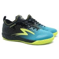 Sepatu Futsal Specs Metasala Musketeer - Black Coctail Blue Solar Slim