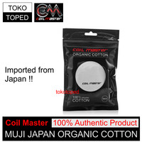 Authentic Coil Master Muji Japan Organic Cotton | kapas organik vapor