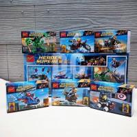 Mainan Lego Bozhi Super Heroes 6in1 | Mainan Lego Bozhi Avengers 6in1
