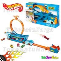 Hot Wheels HW Stunt & Go Rig Truck Truk Hotwheels Original Mattel