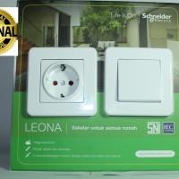 Stop Kontak Leona Schneider Electric