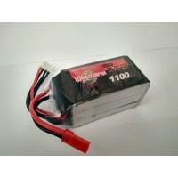 Lipo Wild Scorpion 1100mah 3s 11,1v 25c Lipo Battery