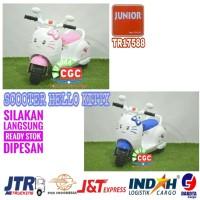 Mainan Motor Aki Junior TR 17588 Scoopy Hello Kitty Promo Murah