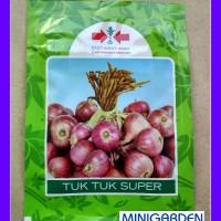 NEW 1 Pack 10 Gr Benih Bibit Sayuran Bawang Merah Tuk Tuk Panah Merah
