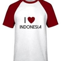 Kaos Raglan Katun Indonesia Surabaya Pria wanita Anak baju kemeja