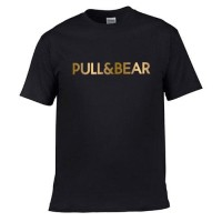 Kaos Tshirt Pull & bear katun import pria wanita baju kemeja surabaya