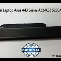 Stok Baru! Original Baterai-Batre Laptop/Notebook Asus A43-A53 Series