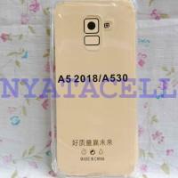 Soft Case Anticrack Samsung A8 2018/A5 2018 /Anti Crack Shock Bentur