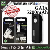 PowerBank Power Bank HIPPO Gaia 5200mAh Original 100owerbank ORI Asli