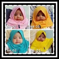 Harga Super Promo Jilbab Bayi Baru Lahir S 0 2 Tahun Hijab Kerudung Anak | DEMO GRABTAG