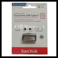 Sandisk Flashdisk Usb 3 Otg Type C 32Gb /Up To 130 Mb/S !!