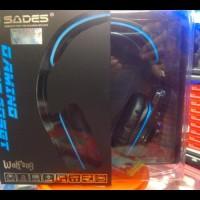 (New Product!!) Sades Sa 901. 7.1Ch Sound. Headset Gaming Wolfang