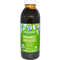 (Sale) Wholesome, Organic Blackstrap Molasses Liquid (472 ml)