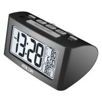 Jam Alarm LED Sleep Timer Thermometer RFOMHZSEBK