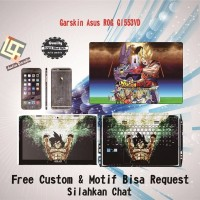 LIMITED EDITION Garskin Laptop Asus ROG GL553VD Full Body motif Drago