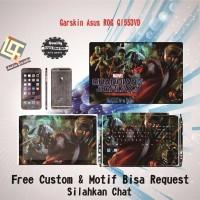 PROMO Garskin Laptop Asus ROG GL553VD Full Body motif Guar free Custo