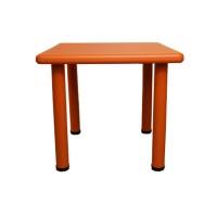 Meja Anak Atria Shawn Kids Square Table Orange