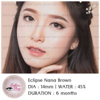 SOFTLENS ECLIPSE NANA BROWN