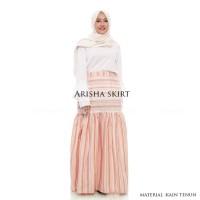 Rok Pesta Panjang Muslimah Maxi Arisha Long Skirt Tenun Etnik