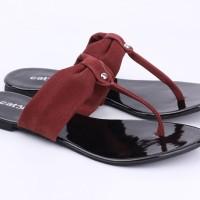CATENZO 20182019 TJSQ013 Sepatu Kets wanita putih Selop kekinian