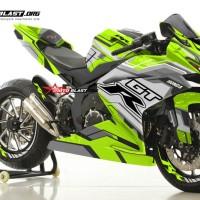 Decal Stiker CBR250RR Green tech GTR