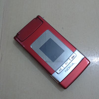 HP Nokia N76 Flip Red Mulus Normal Batangan