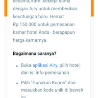 Voucher Hotel Airy Rooms