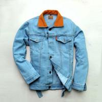 jaket dilan milea dilan 1990 denim levis jacket premium