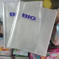 Sampul Buku Quarto / Kwarto BIG OPP Lem / Sealing