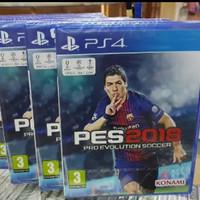 BARU MASIH SEGEL PES18 PES 2018 BD GAME PS4 ORIGINAL