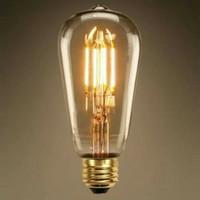 Lampu Filamen 4 watt Edison / Bohlam Pijar hias Lampu Cafe filamen 4w