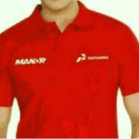BIG SIZE 3XL-7XL...kaos kerah/polo shirt/baju keren MANOR PERTAMINA